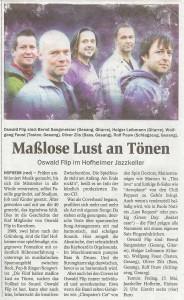 Hofheimer Zeitung vom 12. Mai 2009